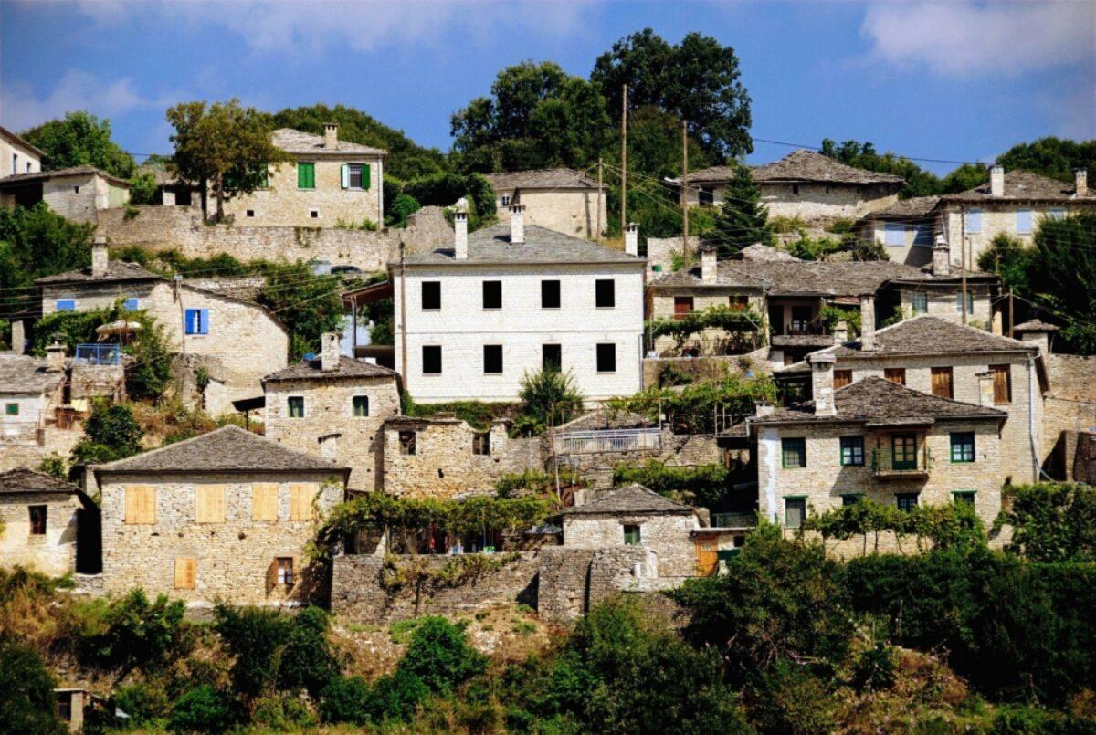 Vitsa village Zagoria north western Greece