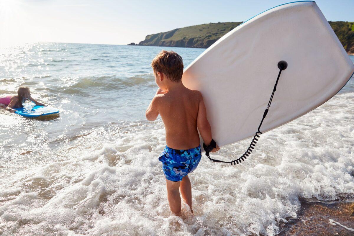 Wales children Bodyboards