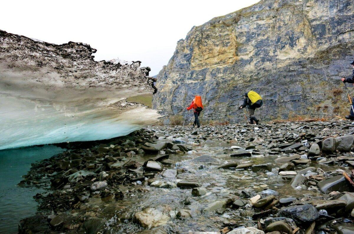 Backpacking ANWR Alaska USA AAA