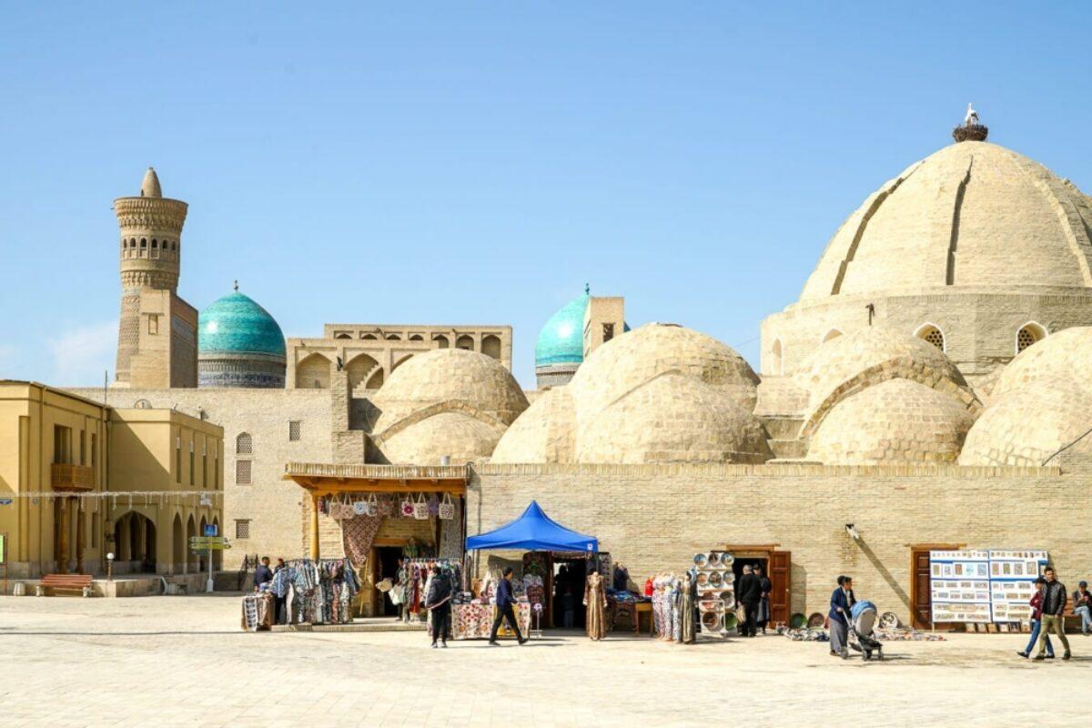 Bukhara domes uzbekistan