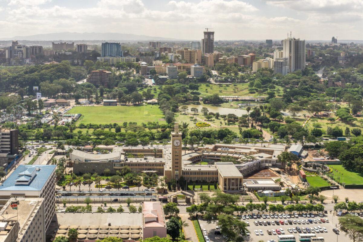Downtown nairobi kenya