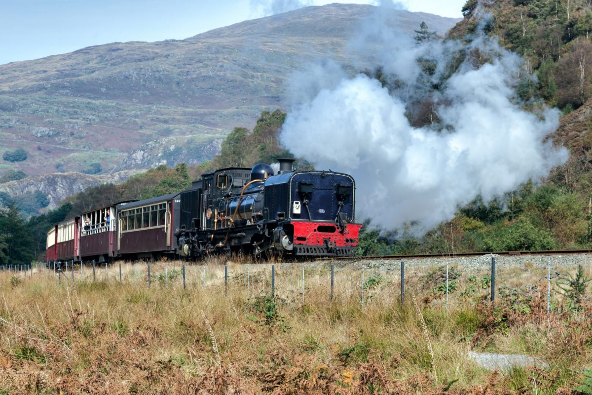 Family Welsh Higland Railway wales uk