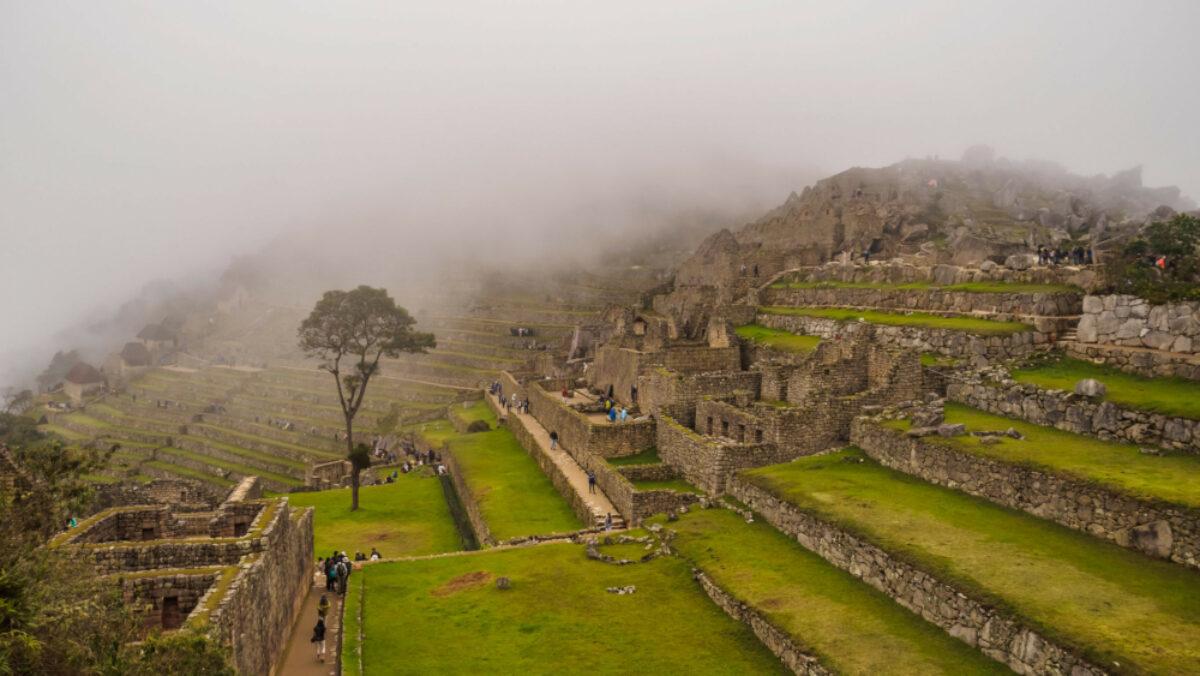 Fog near Cusco Peru