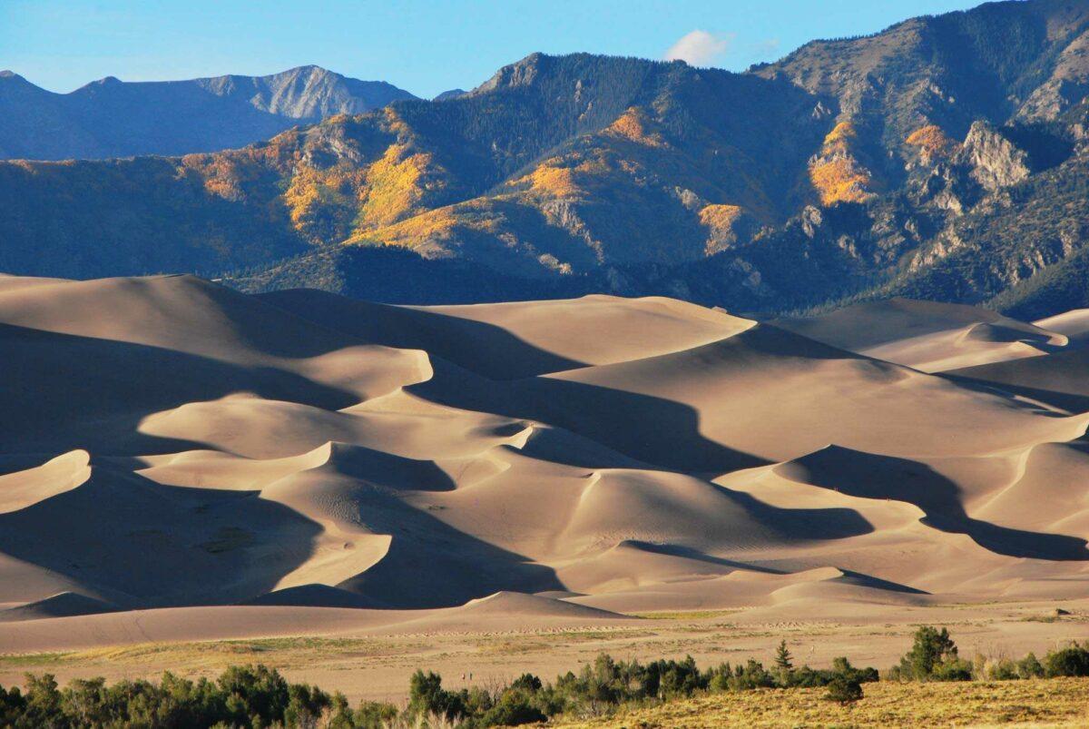 Great sand dunes np colorado usa
