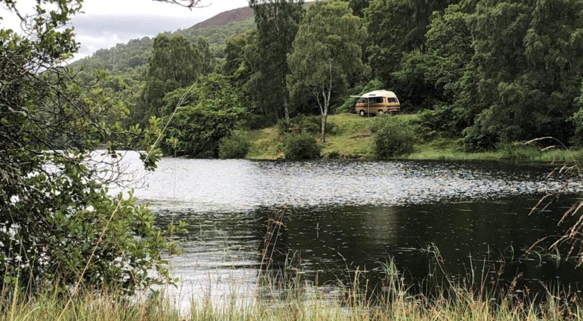 Steven hunt scotland wild camping