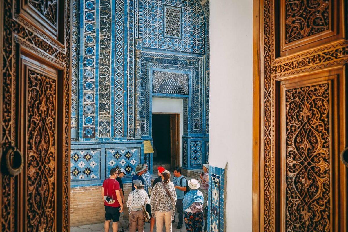 Uzbekistan shahizinda samarkand