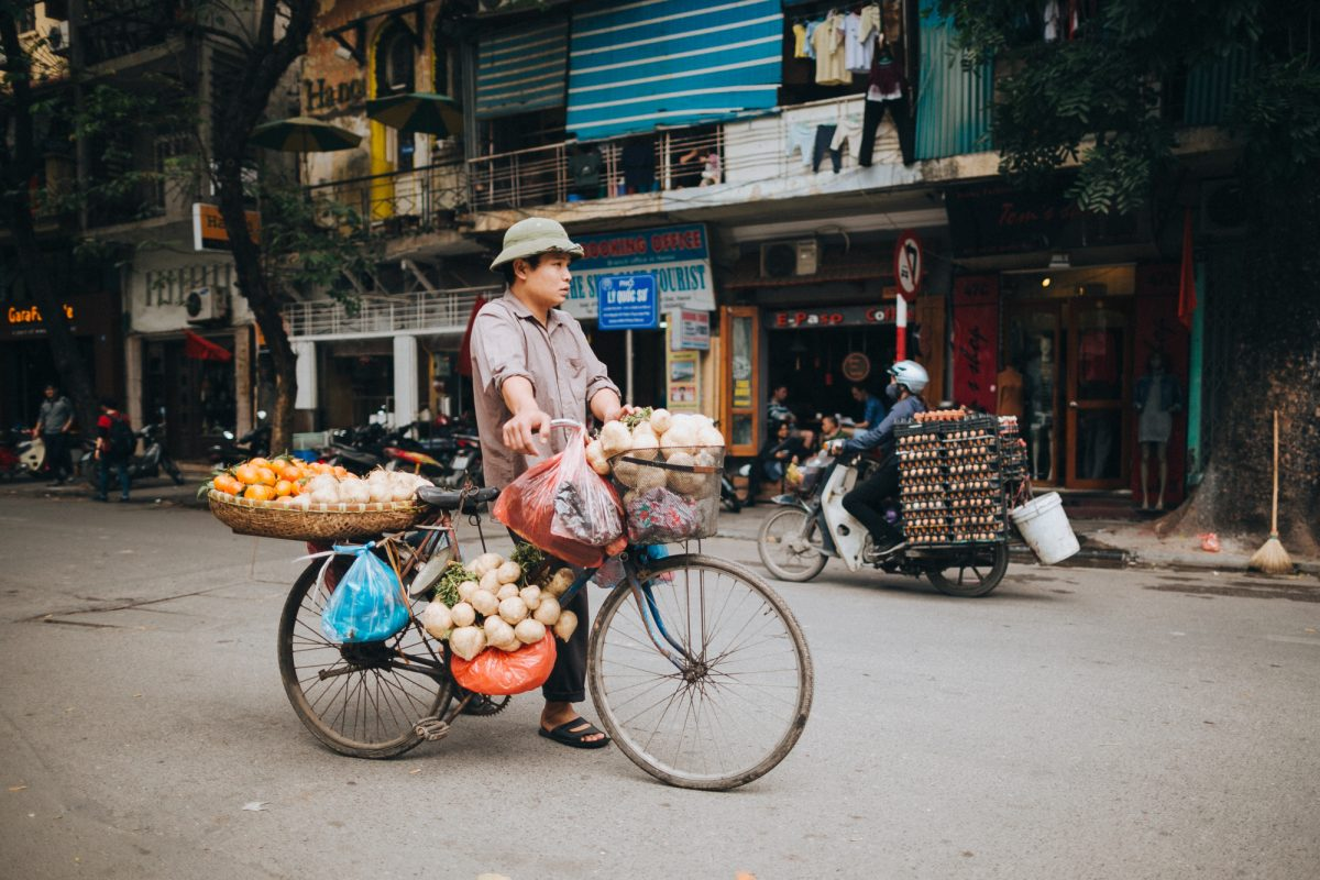 Vietnam hanoi street