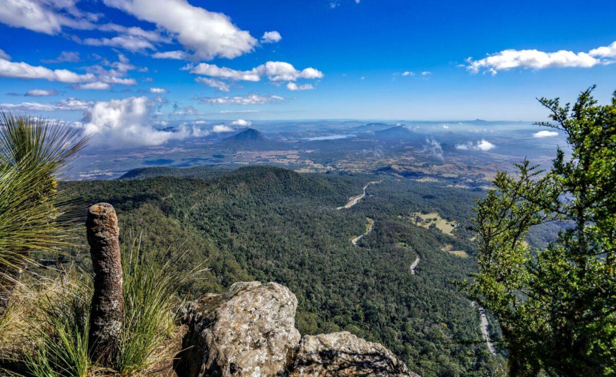 View from Mount Mitchell North Carolina USA
