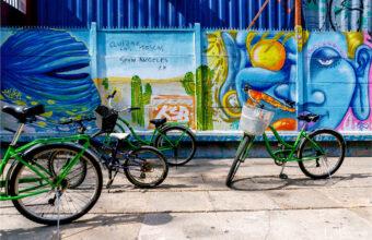 Santiago tour by bike