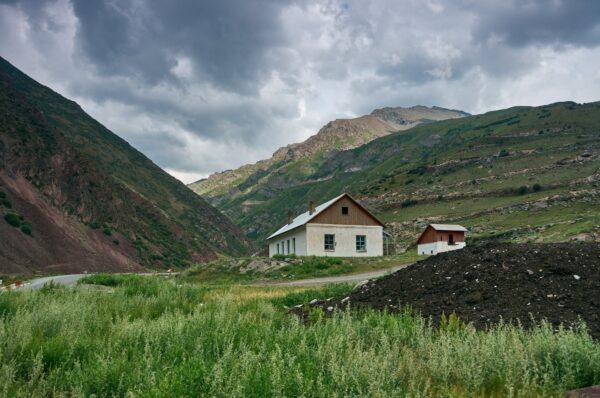 The Suusamyr Valley