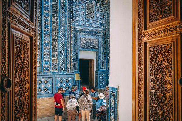 Visiting Samarkand