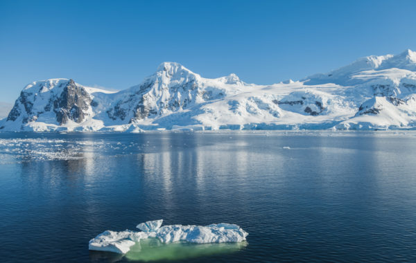 Marvel at the glaciers of the Balleny Islands