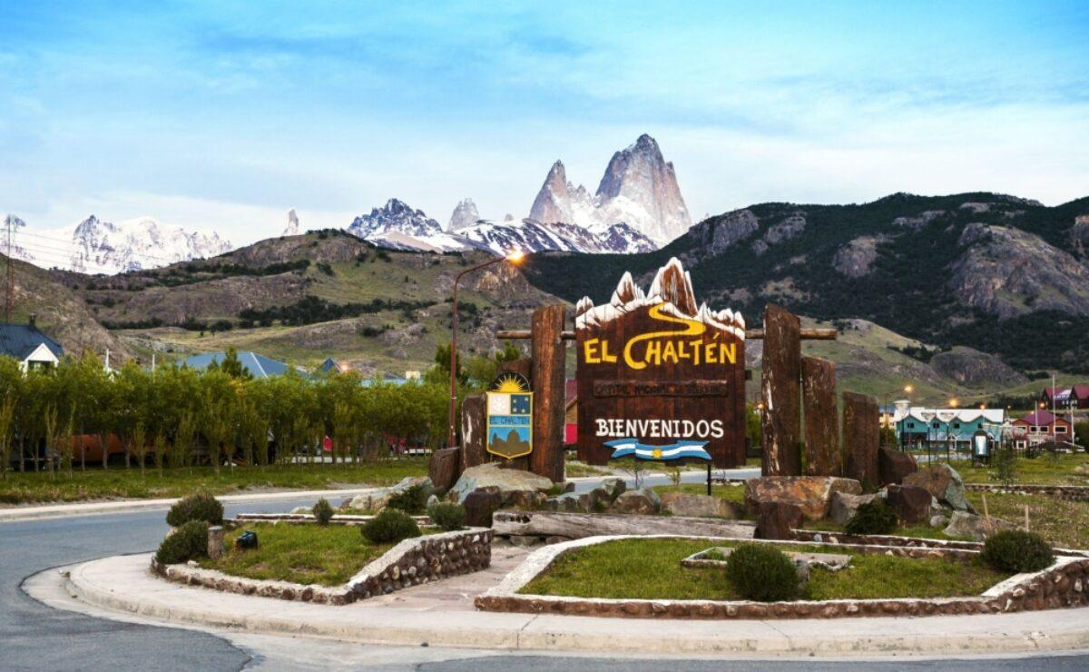 Argentina El Chalten town