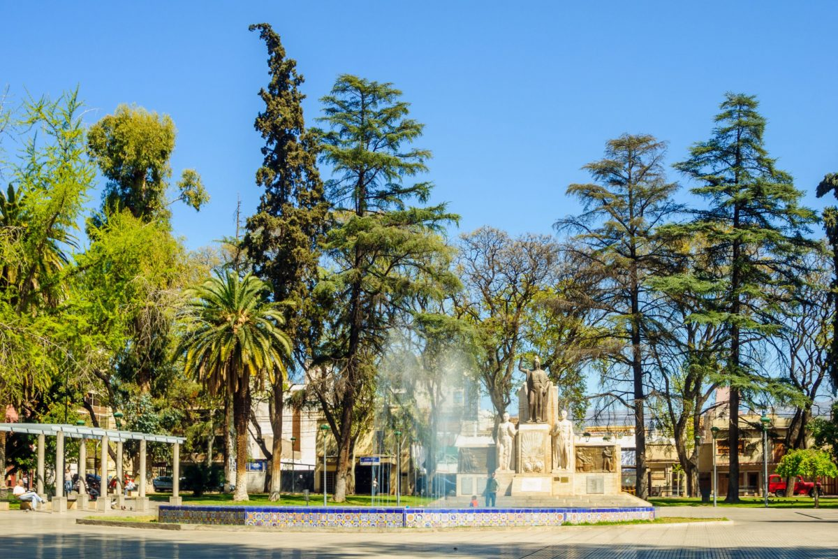 Argentina Mendoza Plaza Espana