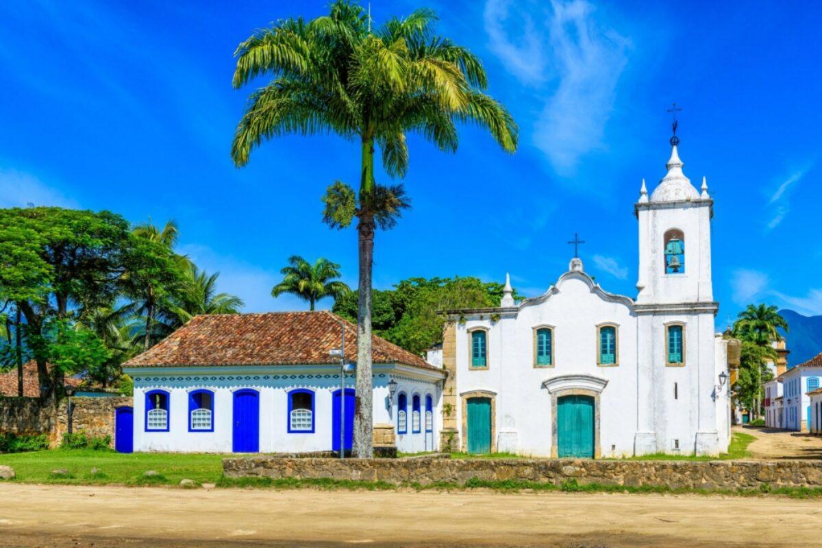 Brazil Paraty Historical center