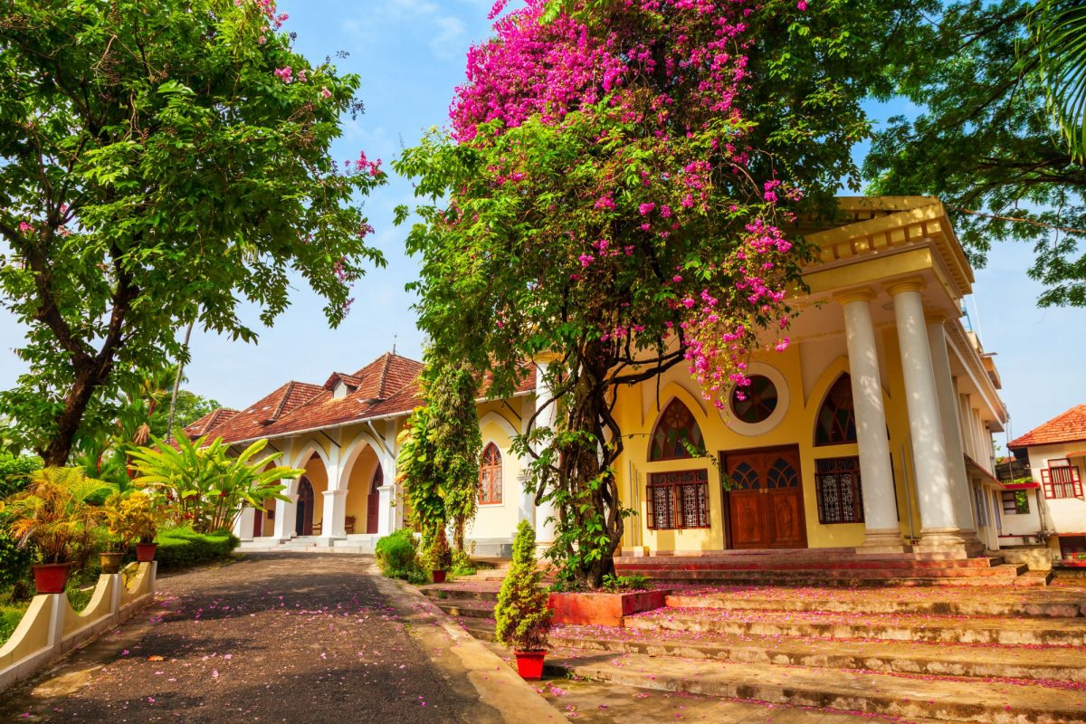 India Kochi The Indo Portuguese Museum or Bishop House is a museum in Fort Kochi