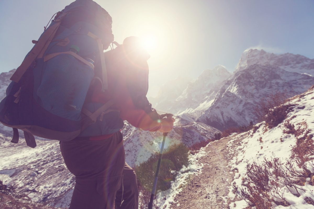 Kanchenjunga hiker