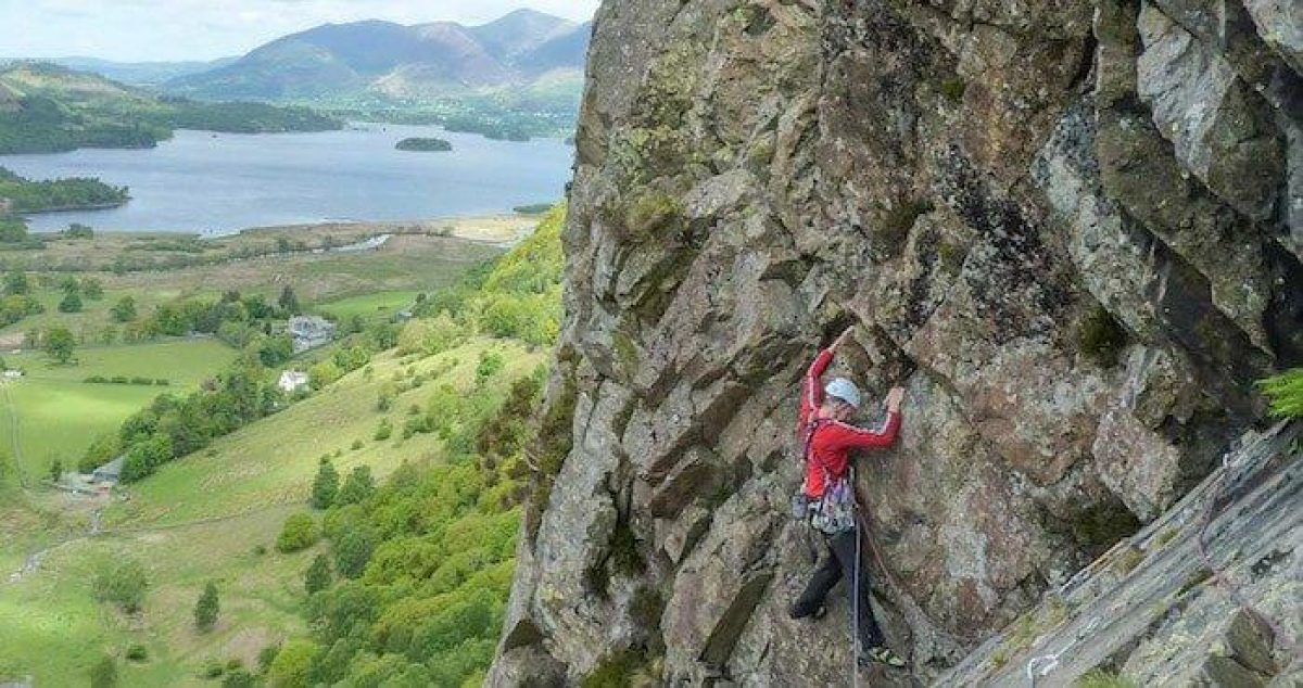 Lost Earthadventures Rock Climbing Lake District