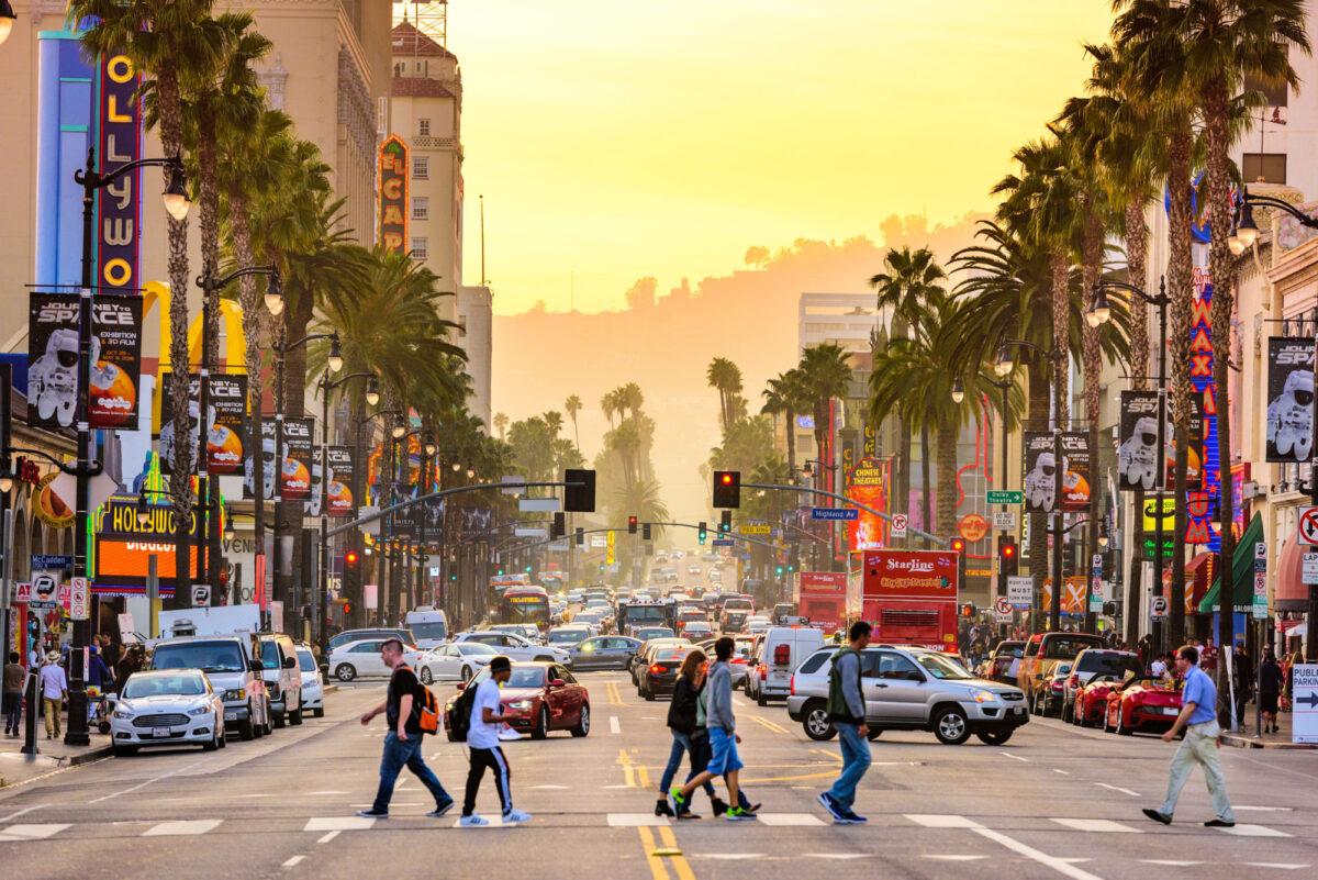 USA LA Hollywood Boulevard