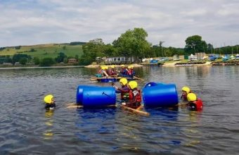 Raft Building Experience